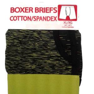 5/$25 M 32 - 34 Men's boxer briefs spandex green